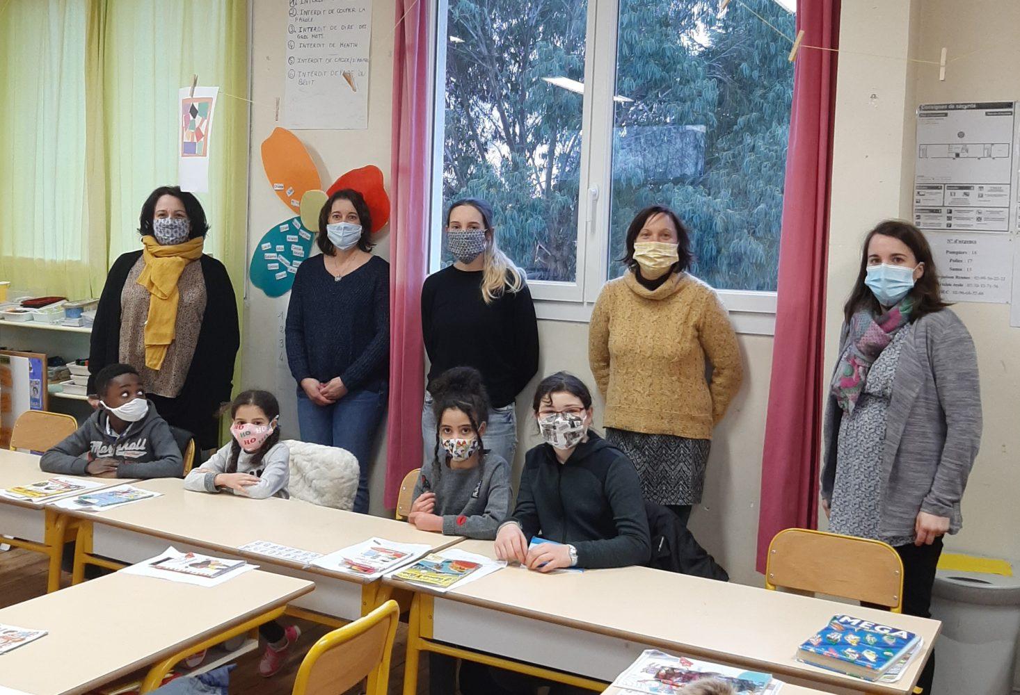 première concertation avec les délégués de classe