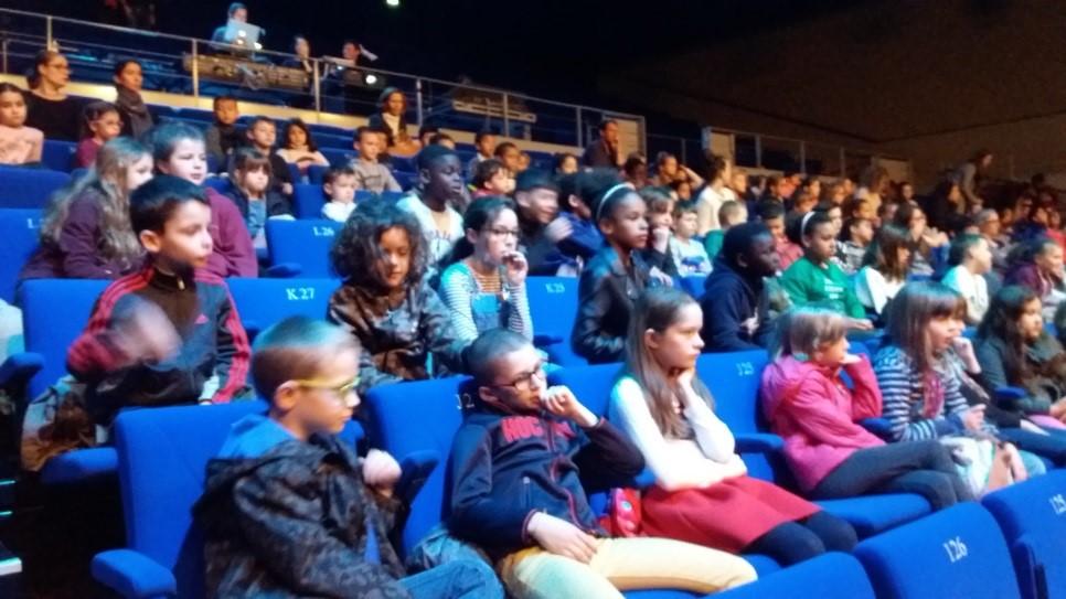 Un concert au Palais des Congrès de Saint Brieuc.