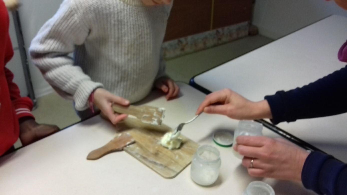 Fabrication du beurre