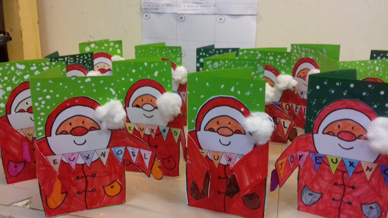 Nos cartes de Noël !